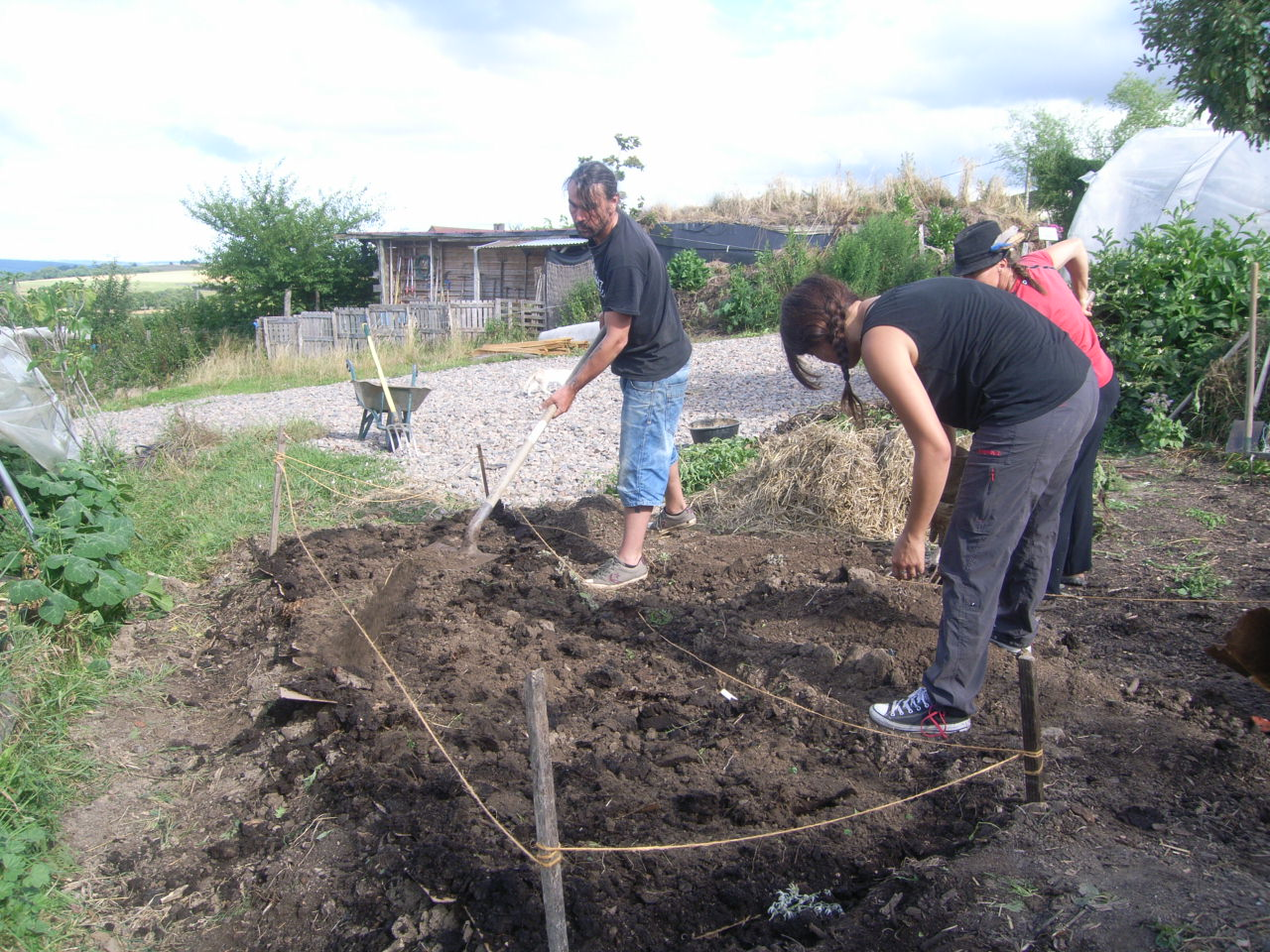 Formation permaculture bourgogne formation longue stage for Permaculture en pratique