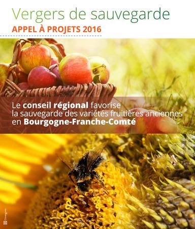 verger conservatoire avec le conseil régional de Bourgogne