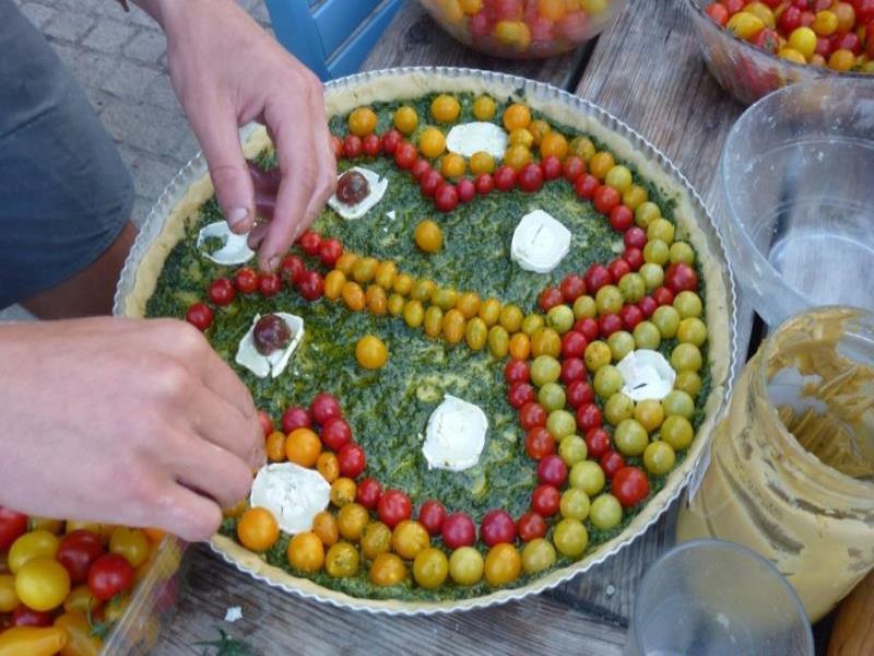 Aurore organise des ateliers cuisine-santé