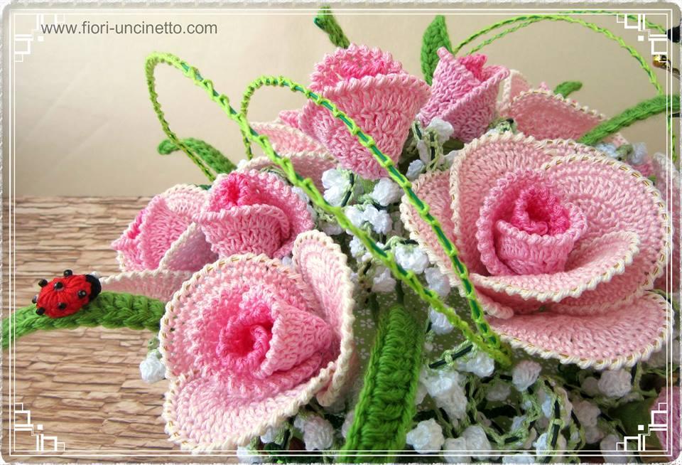 Fiori Uncinetto Crochet Flowers Fiori Alluncinetto Crochet