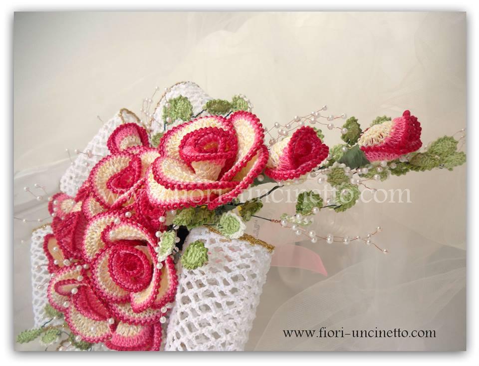 Fiori Uncinetto.Fiori Uncinetto Crochet Flowers Fiori All Uncinetto Crochet