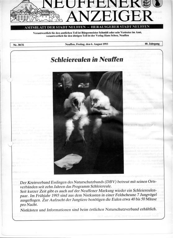 Info Neuffener Anzeiger