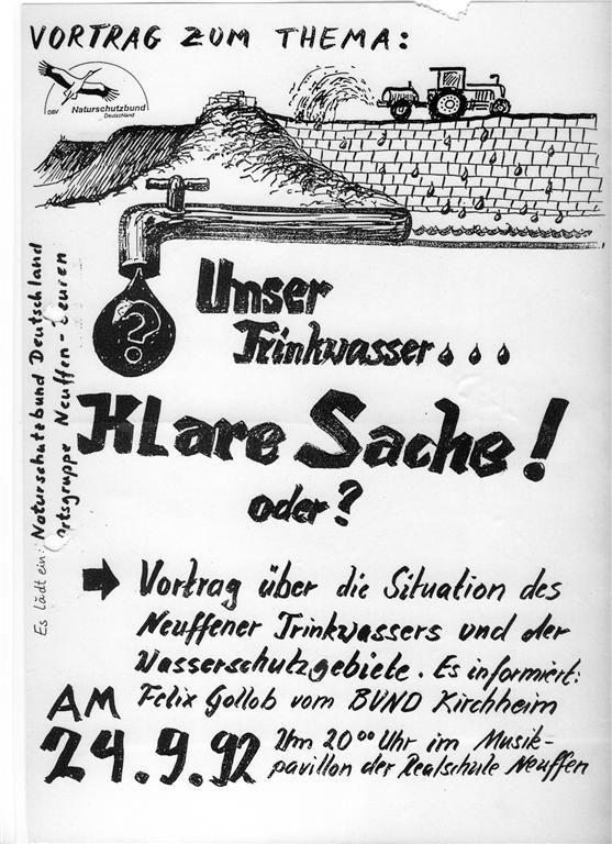 NABU für sauberes Trinkwasser Bild O. Sautter
