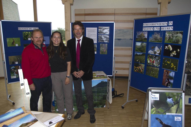 Ausstellung Naturschutzzentrum 2011  Foto NABU