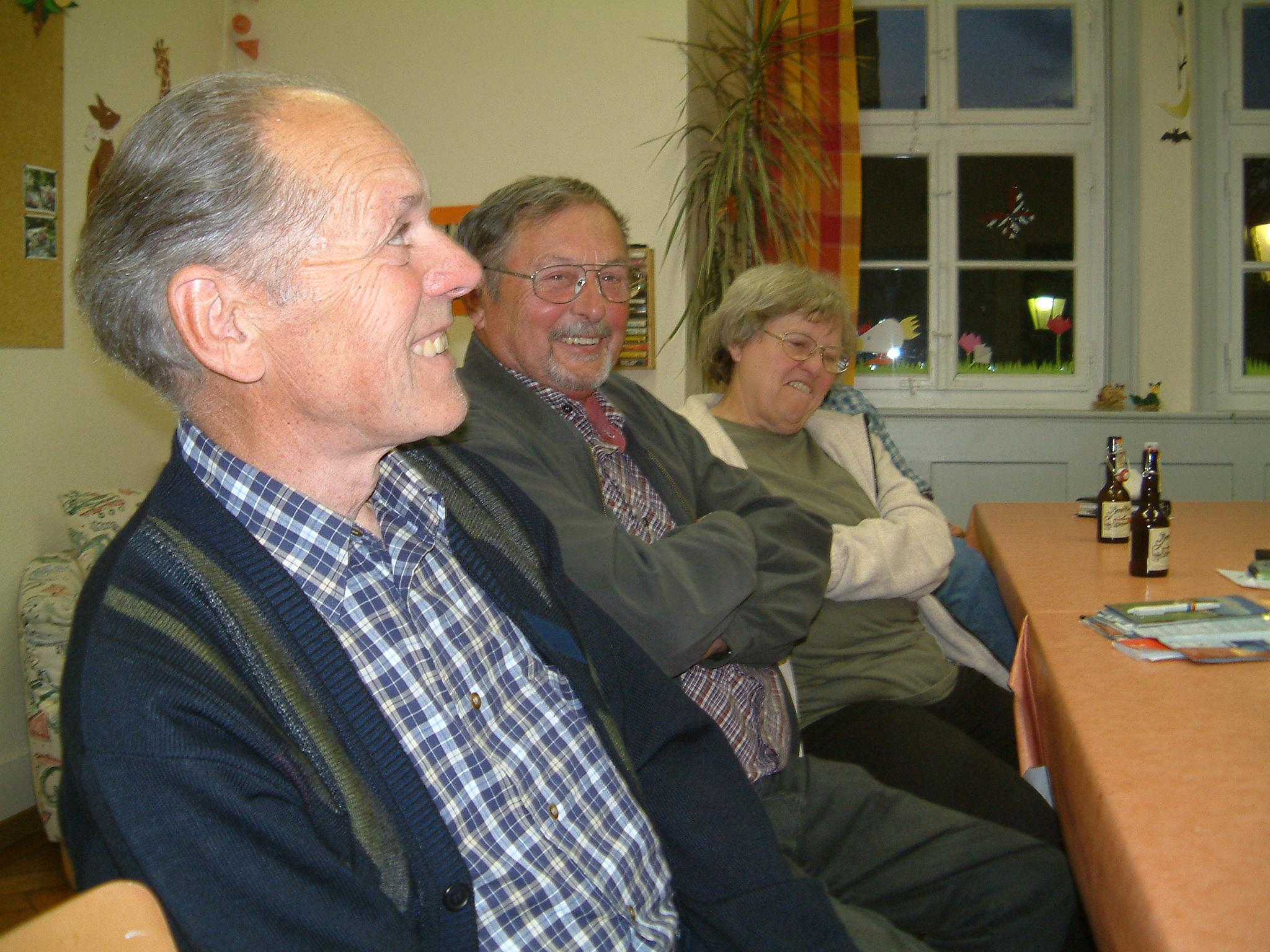 Jahreshauptversammlung 2006 Foto NABU