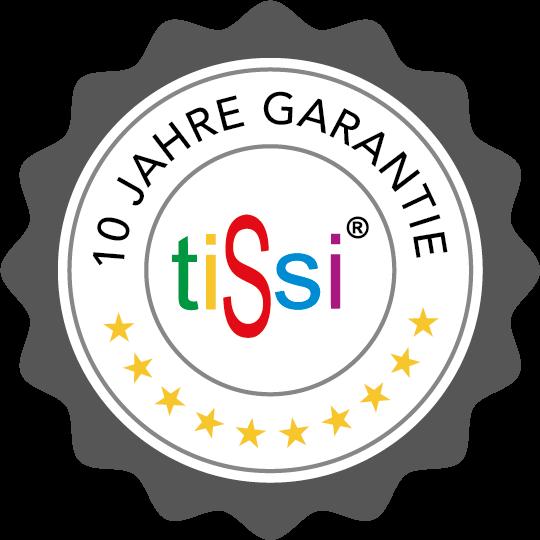 """10 – Jahre """"tiSsi Garantie"""""""