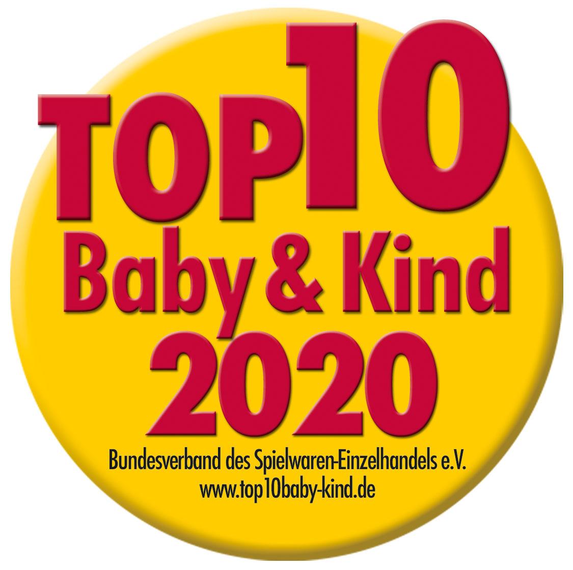 Auszeichnung Top 10 Baby und Kind