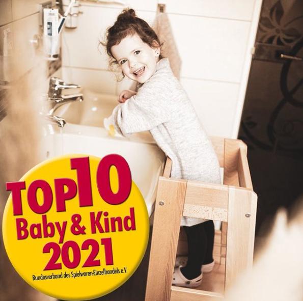 tiSsi® Lern- und Entdeckerturm FELIX unter den TOP 10 Baby & Kind Artikeln 2021