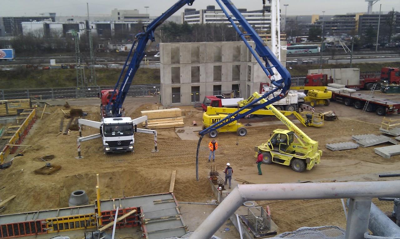 The Squaire Frankfurt am Main - Bauleitung Rohbau und Gründung für ein Parkhochhaus