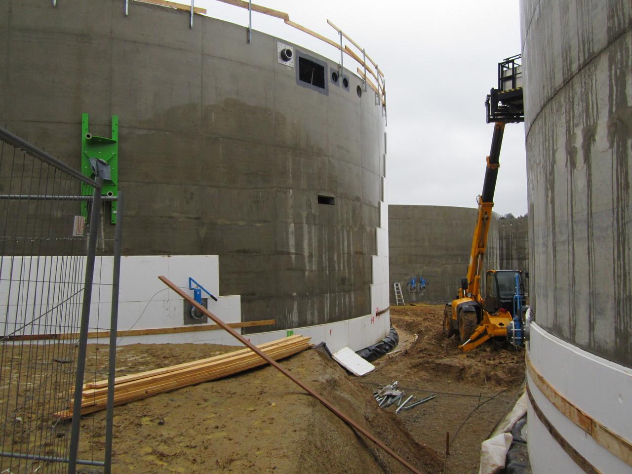Biogasanlage Wolnzach Hallertau Bauüberwachung und Qualitätsmanagement