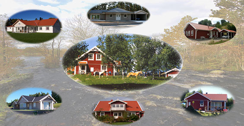 Beispiel Haeuser von Idealhus Ferienhaeuser Ferienhaus Schwedenhaus