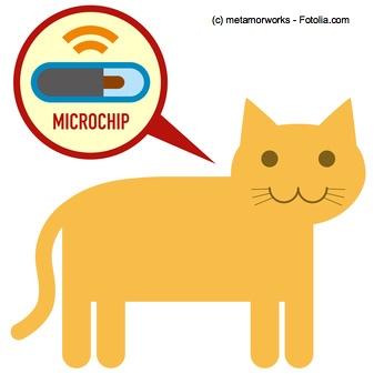 RFID Chips zur Identifizierung von Haustieren sind heutzutage Pflicht.