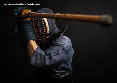 Kendo ist der versportlichte Schwertkampf Japans.