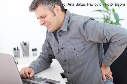 Büroarbeit ohne Rückenschmerzen