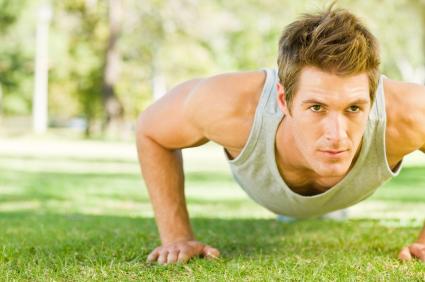 Liegestütz ist eine der Klassiker unter den Body-Weight-Exercises