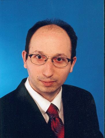 Mein altes Bewerbungsfoto von 1997
