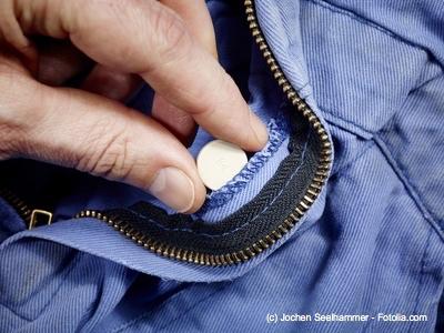 Ein RFID Chip in der Kleidung dient nicht nur dem Diebstahlsschutz.
