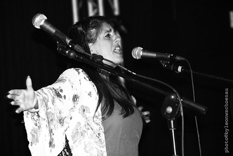 Die Sängerin Luisa Machado (Teneriffa)