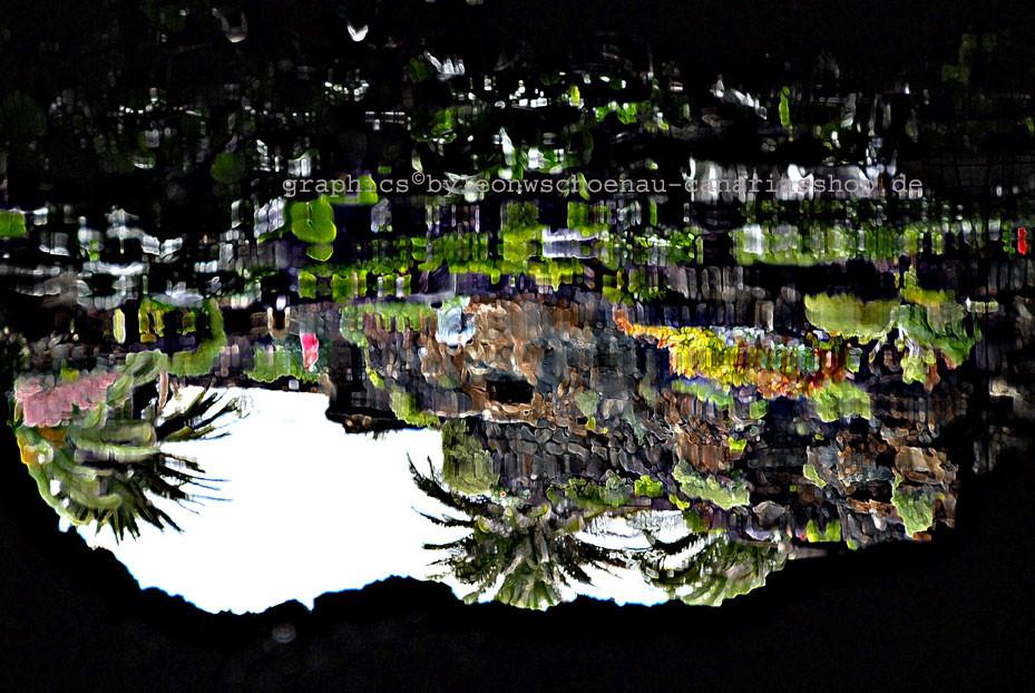 PHOTO©LEON.W.SCHOENAU: LA CUEVA VERDE/1 - SPIEGEL DES VULKANS