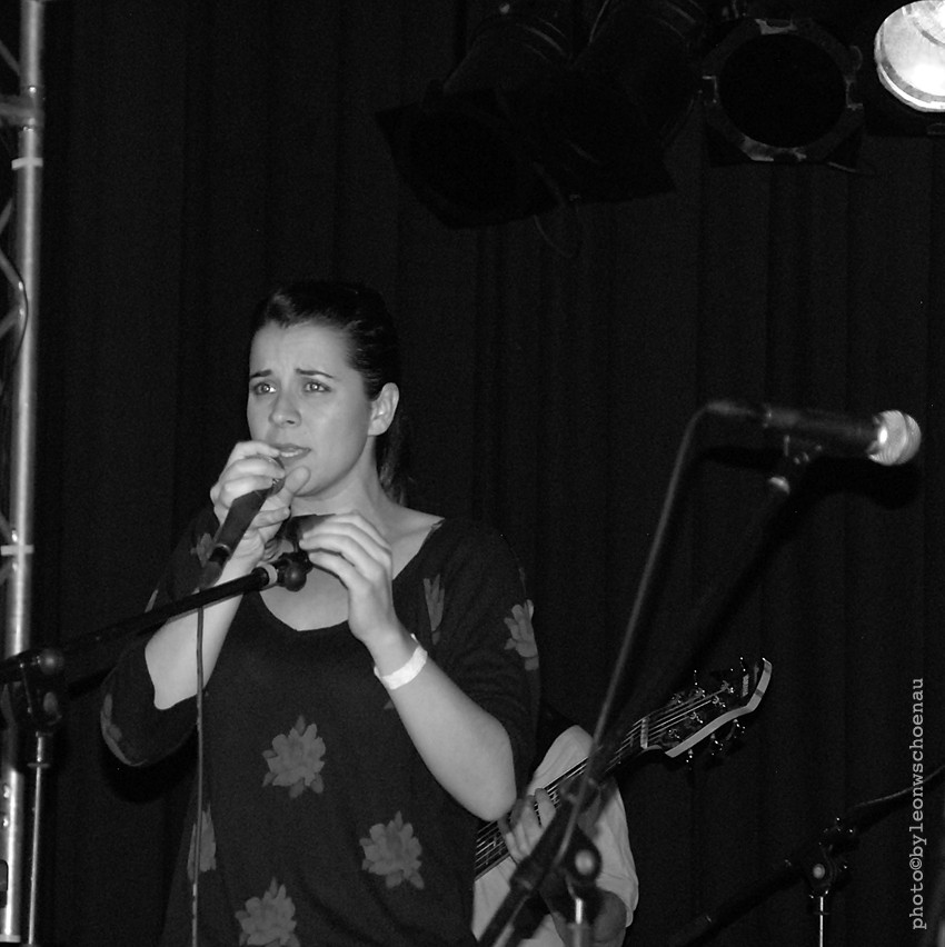 Die Sängerin Bibiana Monje (Teneriffa)
