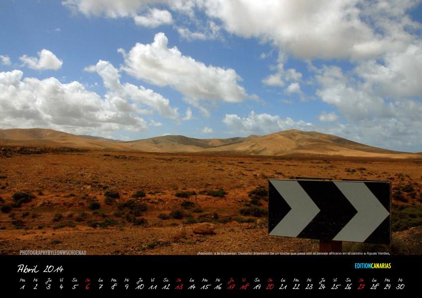 "Aus dem Kalender ""Fuerteventura 2014"""