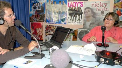 Fotogalerie © L.W.S. Radiointerview auf Spanisch mit Yeroy Nuez Santana und Maria Graf zum Thema Deutsch-Kanarische Freundschaft.