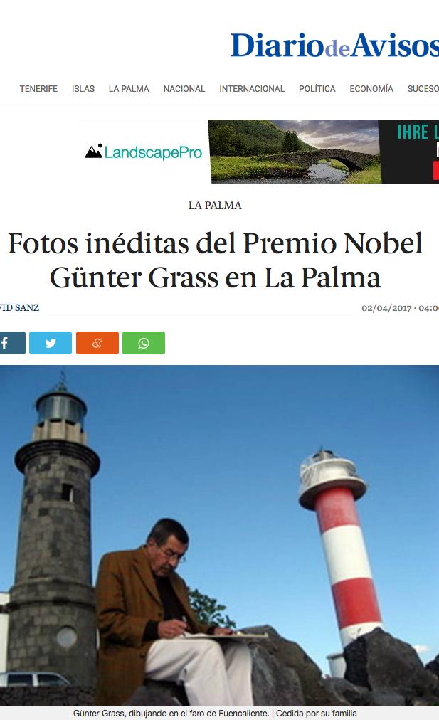 "Source: Bild-Zitat aus ""Diario de Avisos"" - 02.04.2017"