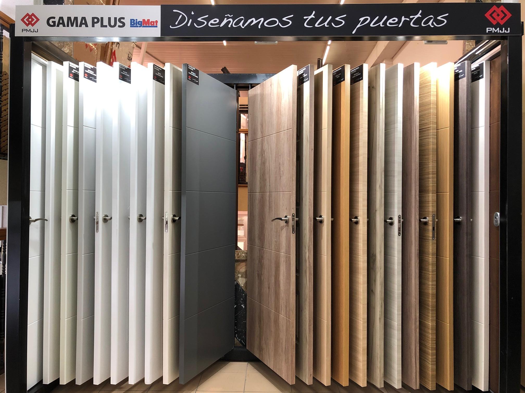 Exposición puertas paso y entrada - BigMat Aliazul