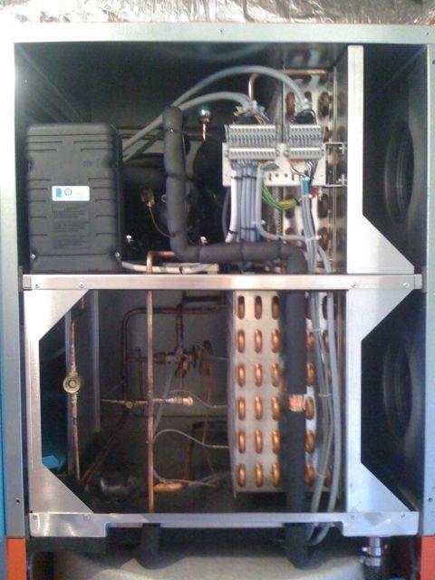 Lüftungsgerät installiert und inbetriebgenommen