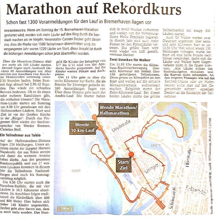 Traueranzeigen Nordsee Zeitung Bremerhaven