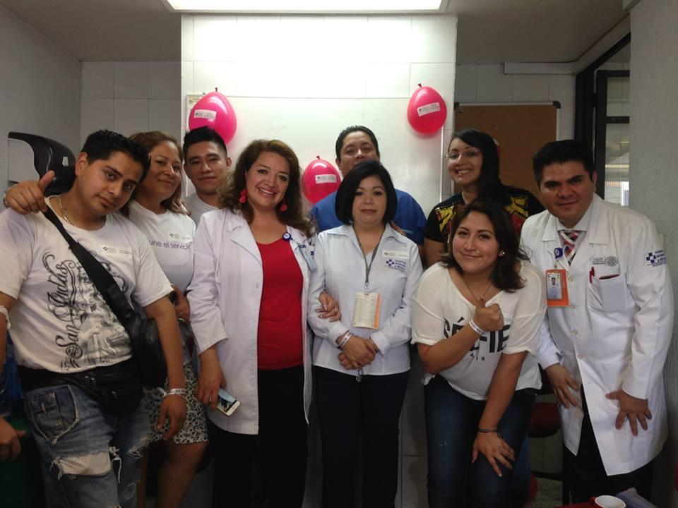 Personal del Hospital General de México
