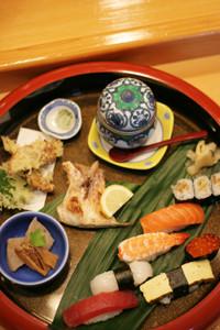 佐久寿司ランチ