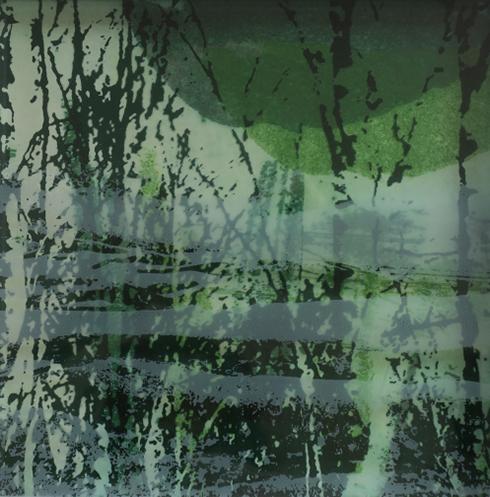 Siebdruck auf Glas