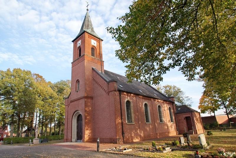 St.Bernhard - Pfarrkirche Flachsmeer