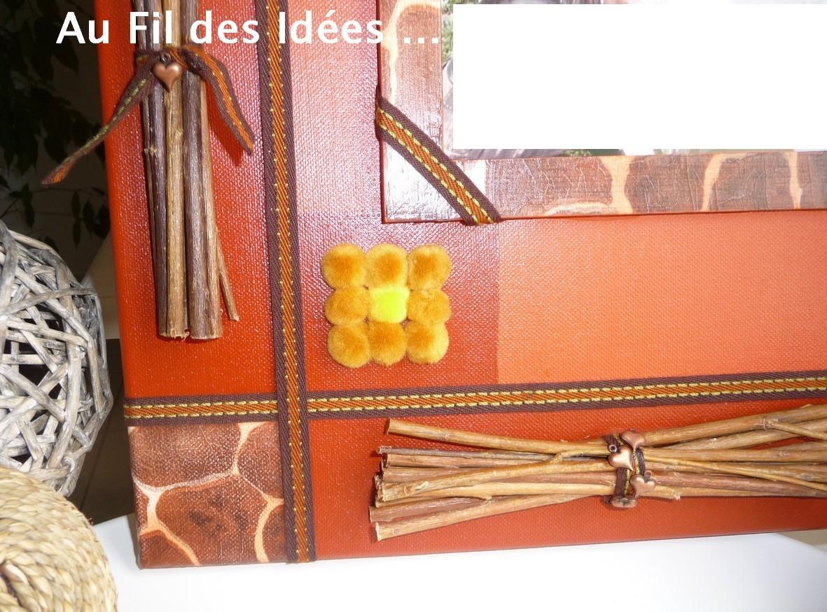"""""""Noces de coton"""" 30 x 30 cm - Création Janv/Fév 2011"""