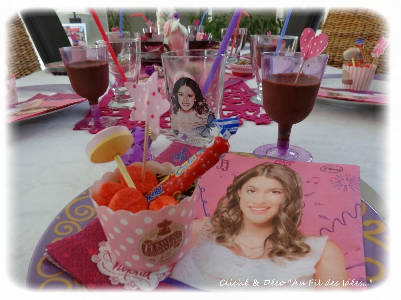 Déco table Anniversaire Petite Fille - Au Fil des Idées - Septembre 2014