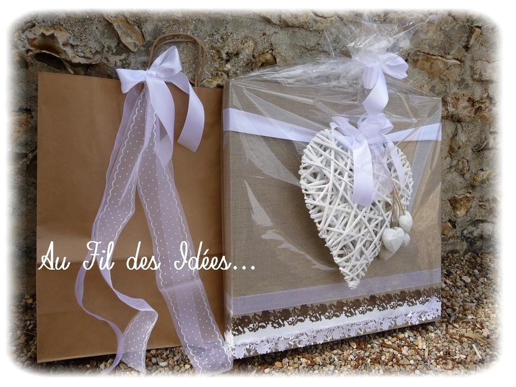 """Tableau """"Romantique"""" à souhait ! - Créa Mai 2012"""