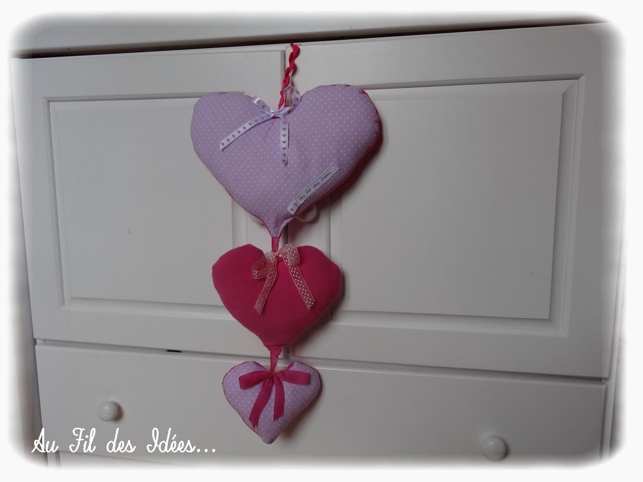 Coeurs Pastels - Créa made in Au Fil des Idées Mars 2013
