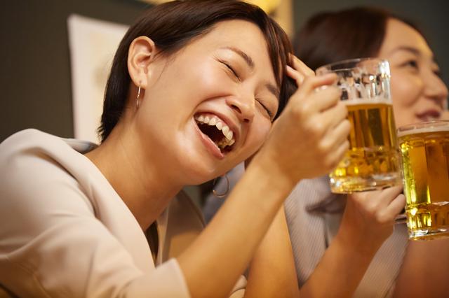 アルコール女子