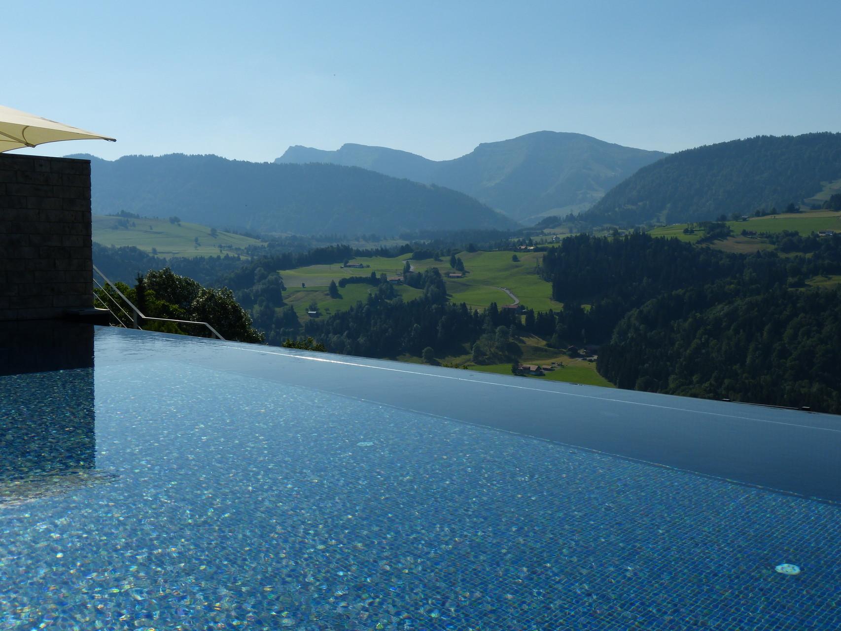 Infinity Pool Hotel Bergkristall