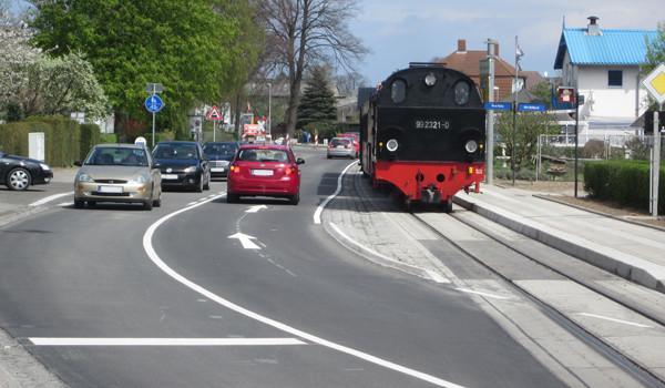 Erneuerung der Molli-Haltestelle und Strandstraße in Kühlungsborn