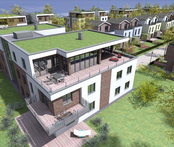 Erschließung des neuen Wohngebietes in Kühlungsborn