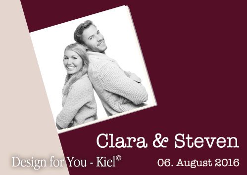 Clara & Steven © Design for You -Kiel