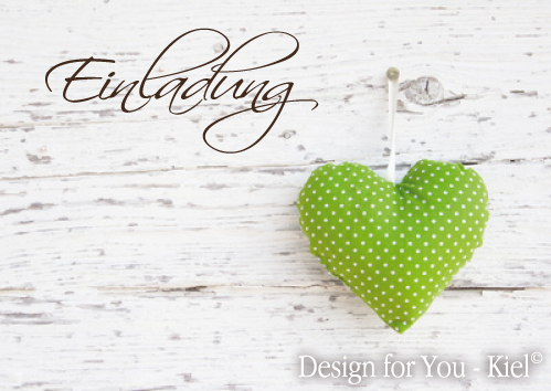 Einladung 05 © Design for You -Kiel