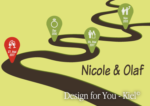 Nicole & Olaf © Design for You -Kiel