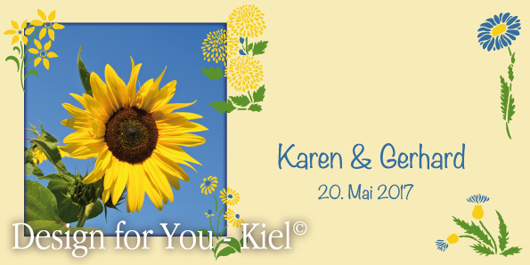 Karen & Gerhard © Design for You -Kiel