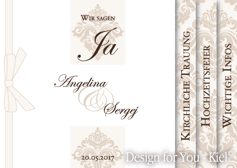 Angelina & Sergej © Design for You -Kiel