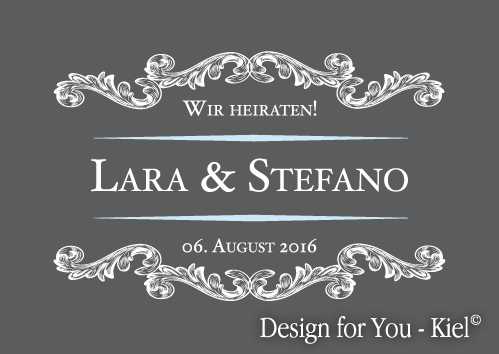 Lara & Stefano © Design for You -Kiel