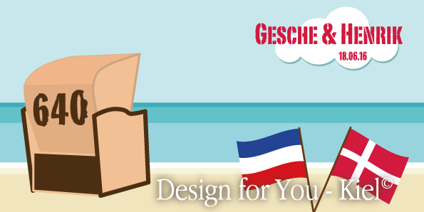 Gesche & Henrik © Design for You -Kiel