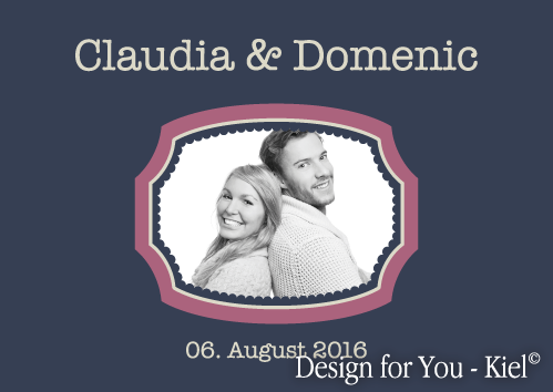 Claudia & Domenic © Design for You -Kiel
